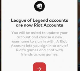 LOL英雄联盟PBE测试服提示帐号修改为:Riot Games帐号